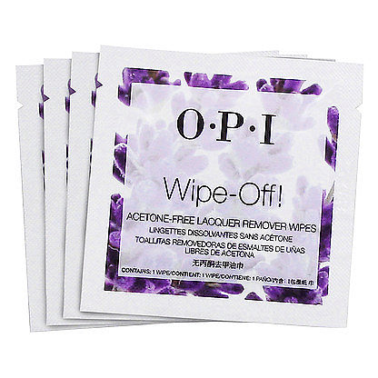 Nail Lacquer Wipes