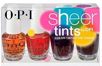 Sheer tints 4 шт