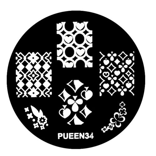 Disk for stamping Pueen № 34