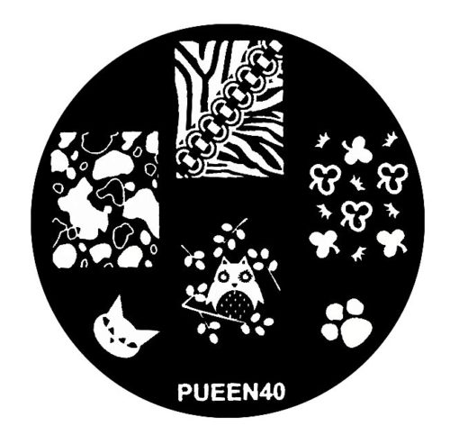 Disk for stamping Pueen № 40
