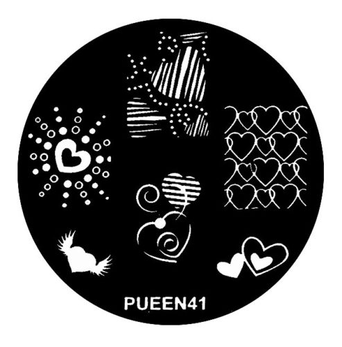 Disk for stamping Pueen № 41