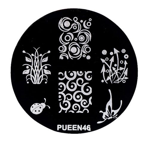 Disk for stamping Pueen № 46