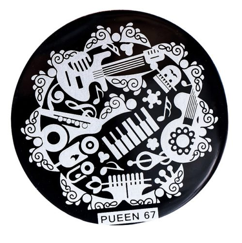 Disk for stamping Pueen № 67