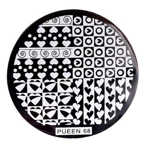 Disk for stamping Pueen № 68
