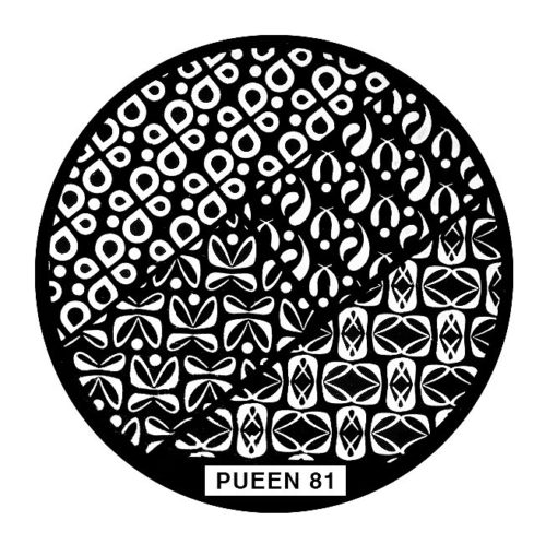 Disk for stamping Pueen № 81