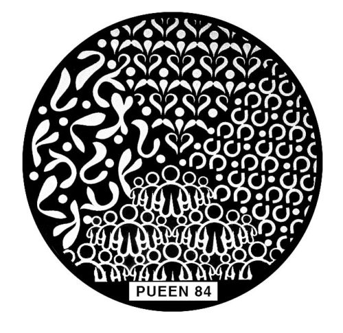 Disk for stamping Pueen № 84