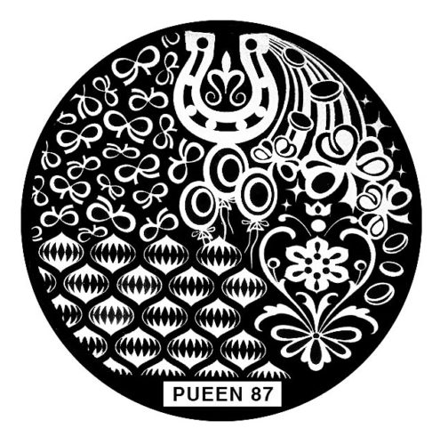 Disk for stamping Pueen № 87
