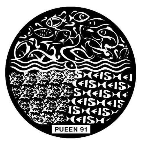 Disk for stamping Pueen № 91