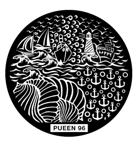 Disk for stamping Pueen № 96