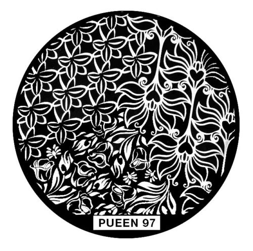Disk for stamping Pueen № 97