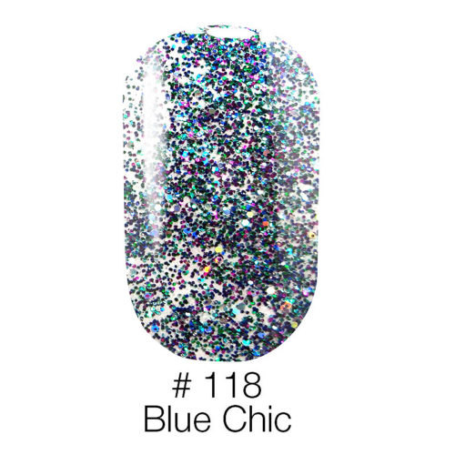Gel Polish №118 Blue Chic 6 мл