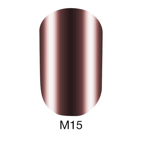 Gel Polish Metallic Collection M15 6 мл