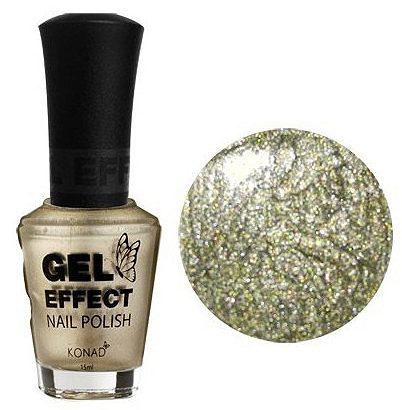 Gel Effect Nail Polish Champagne Gold 15 мл
