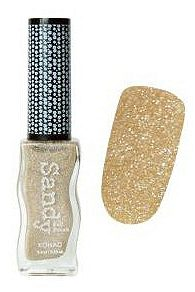 Sandy Nail Polish Glitter Gold 9.5 мл