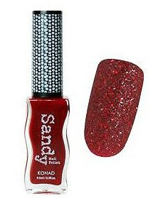 Sandy Nail Polish Glitter Red 9.5 мл