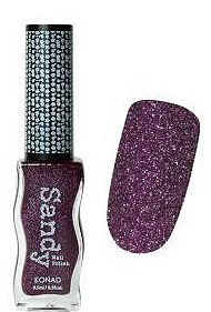 Sandy Nail Polish Glitter Purple 9.5 мл