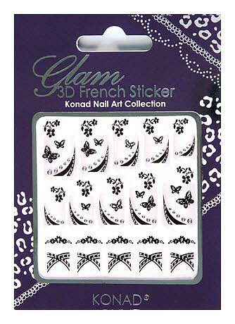 Glam 3D French Sticker 11