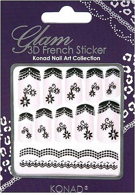 Glam 3D French Sticker 12