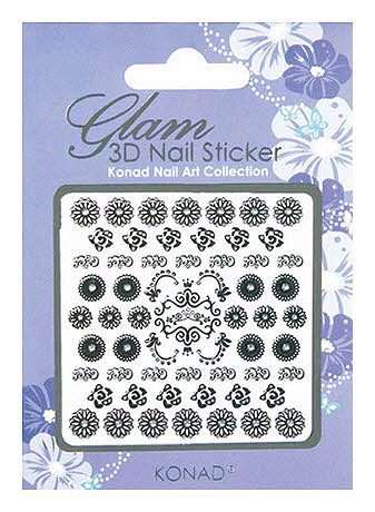 Glam 3D Nail Sticker 4