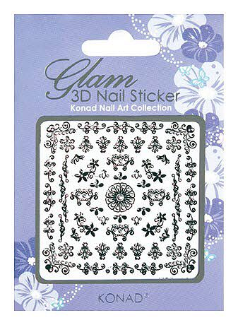 Glam 3D Nail Sticker  5