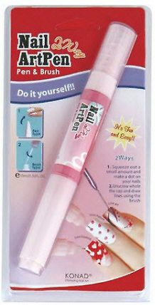 2 Way Nail Art Pen- White