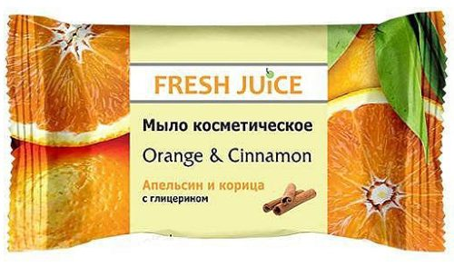 Cosmetic Soap Orange & Cinnamon 75 гр