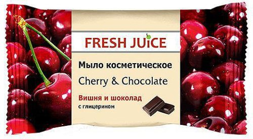 Cosmetic Soap Cherry and Chocolate 75 гр