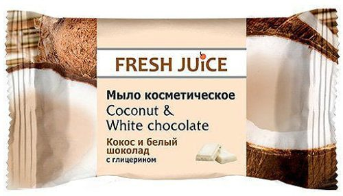Cosmetic Soap Coconut and White Chocolate 75 гр