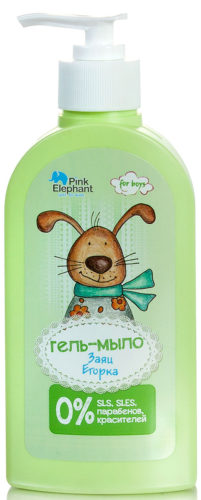 Gel soap Hare Egorka 250 ml