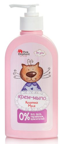 Cream soap Pussycat Musya 250 ml
