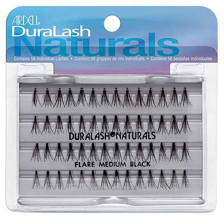 Duralash Naturals Medium Black 56 шт