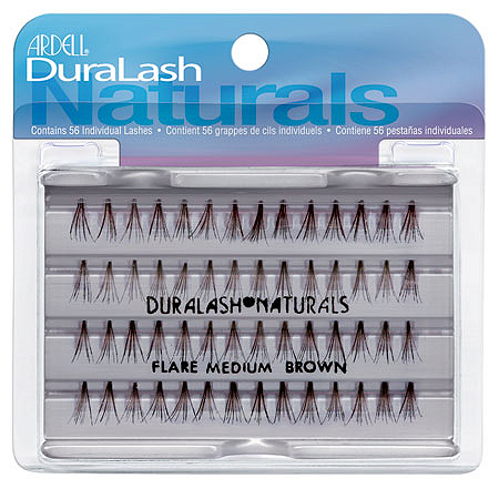 Duralash Naturals Medium Brown 56 шт