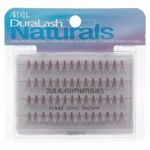 Duralash Naturals Long Brown 56 шт