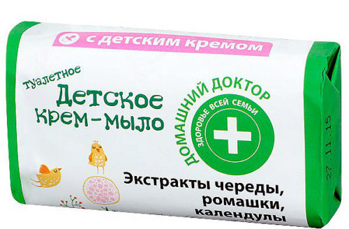 Baby Сream Soap with Extracts of Succession Chamomile and Calendula 70 г