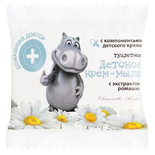 Baby Cream Soap with Extracts Chamomile 70г
