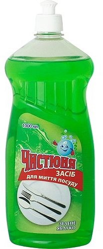 Dishwashing Liquid Green Apple 1л