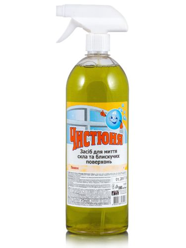 Glass Cleaner Spray Lemon 500мл