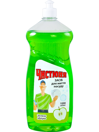 "Dishwashing Detergent ""Green Apple"" 1л"
