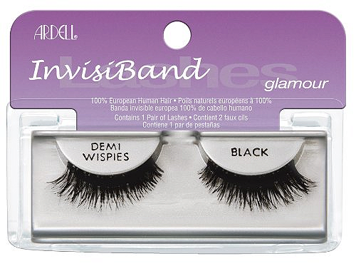 Invisibands Demi Wispies Black