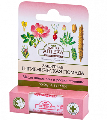 Protective Chapstick with Rosehip Oil and Wheat Germ 3,6г