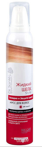 Mousse for Hair Styling and Color Protection 300мл