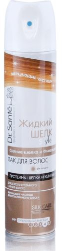 Mousse for Hair Shining Silk and Fixation 300мл