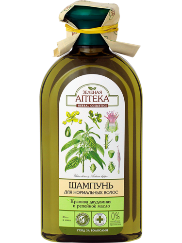 "Shampoo for Normal Hair ""Nettle and Burdock Oil"" 350мл"