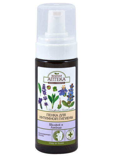 "Foam for Intimate Hygiene ""Salvia and Lavender"" 150мл"