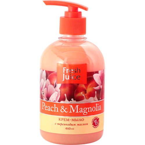 Cream Soap Peach and Magnolia 460мл
