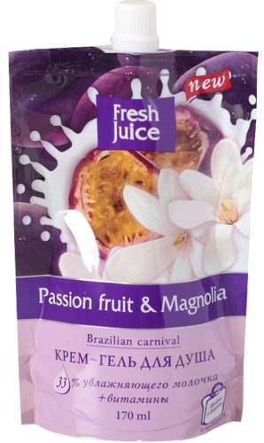 Cream-Shower Gel Doypack Passion fruit and Magnolia 200мл
