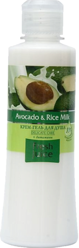 Cream Shower Gel Avocado and Rice Milk 300мл