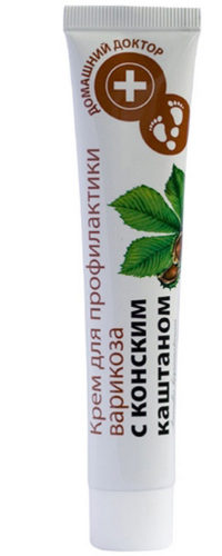 "Foot Cream ""Prevention of Varicose Veins with Horse Chestnut"" 42мл"