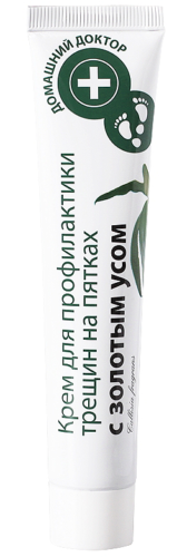 "Foot Cream ""Prevention of Cracks with Gold Whiskers"" 42мл"