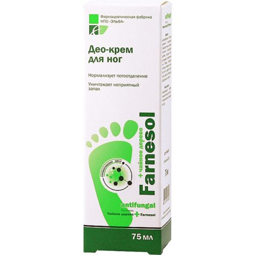 Farnesol Deo foot Cream 75мл